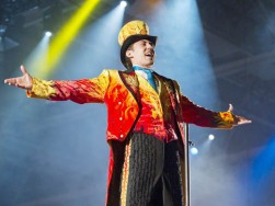 Brian Crawford Scott of the Fully Charged show coming to Jacksonville is Ringling Bros. newest ringmaster. He studied acting at the University of Northern Colorado before moving to New York to pursue an acting career. Ringling Bros. and Barnum & Bailey Circus. Provided by Feld Entertainment
